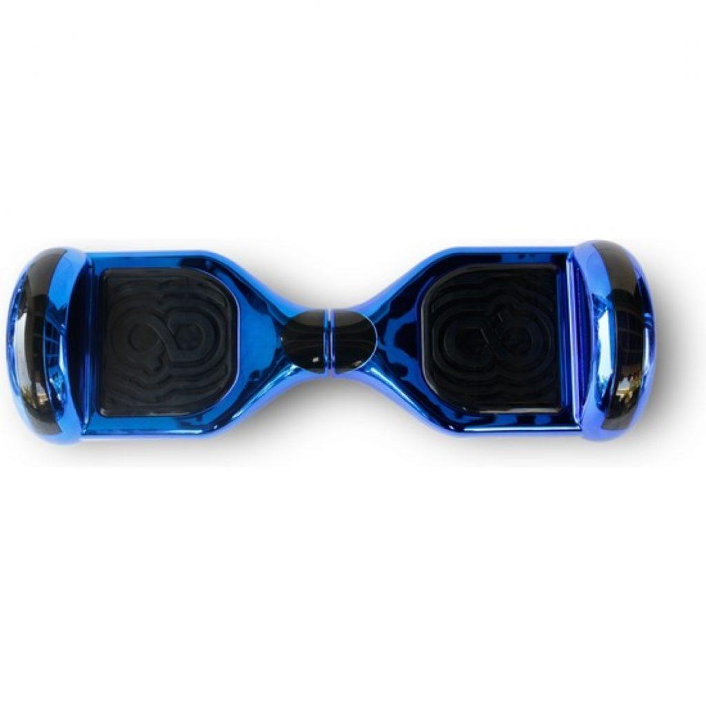 Hoverboard azul metalizado