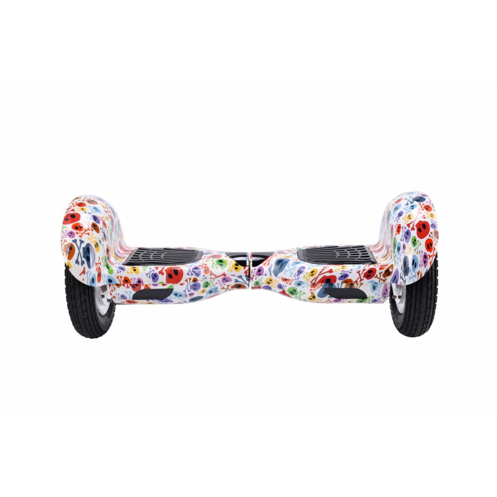 Hoverboard 10 pulgadas Skull Blanco