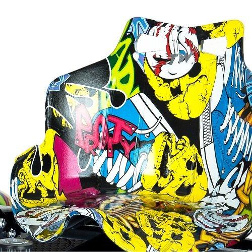 Hoverkart Plus Multicolor Asiento