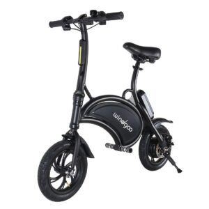 Patinete Eléctrico Scooter Ebike Windgoo B3 Black Edition