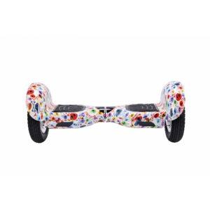 Hoverboard 10 Pulgadas Skull Blanco con Autobalance y Giroscopio 110Kg / Vel Max 18km/h Bluetooth