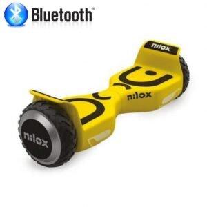 Hoverboard 6.5 pulgadas Nilox Plus todo terreno Amarillo