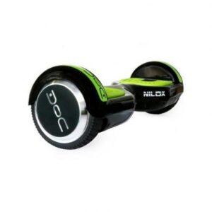 Hoverboard 6.5 Pulgadas Negro y Verde Nilox Doc Plus Edition