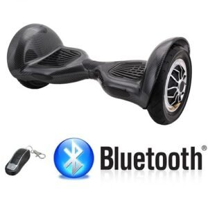 Hoverboard 10 Pulgadas Elements Jet Stream Maxi Pro Negro Carbón