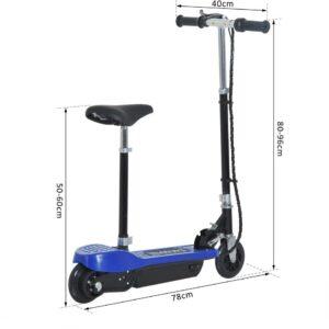 Patinete Electrico 6 Pulgadas Azul Pro Edition