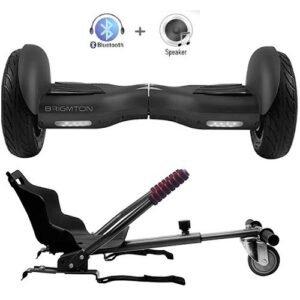 Hoverboard con Silla 10 Pulgadas Brigmton Bboard Pro Edition - Gc Distribuciones